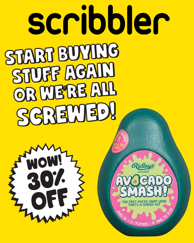 Scribbler Sale August 2020