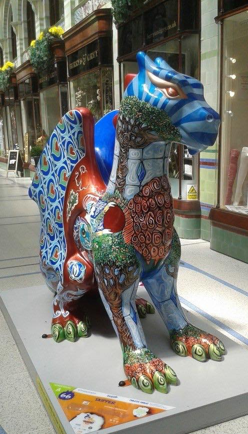 Dragon at Royal Arcade